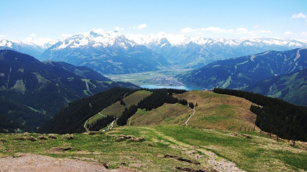 Ausblick auf Berg und See Naturcoaching