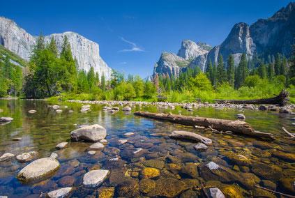 wasser berglandschaft